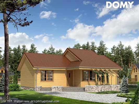 projekt domu w 3d